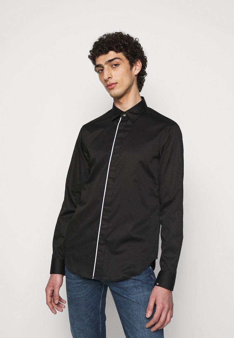 Emporio Armani - SHIRT - Shirt - black