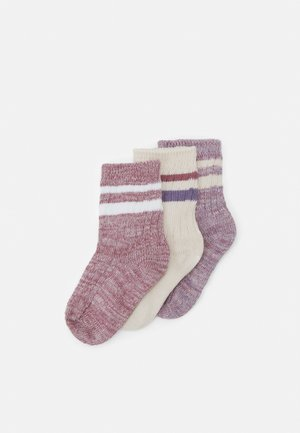CREW 3 PACK - Socks - berry twist