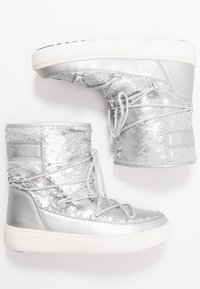 Moon Boot - PULSE MID DISCO  - Winter boots - silver - 3