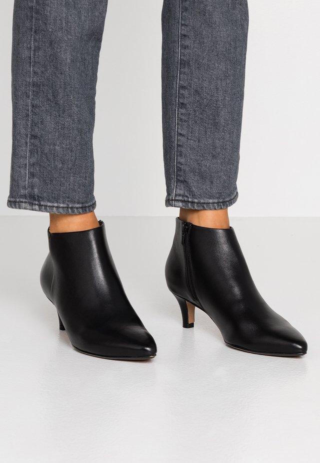 LINVALE SEA - Korte laarzen - black