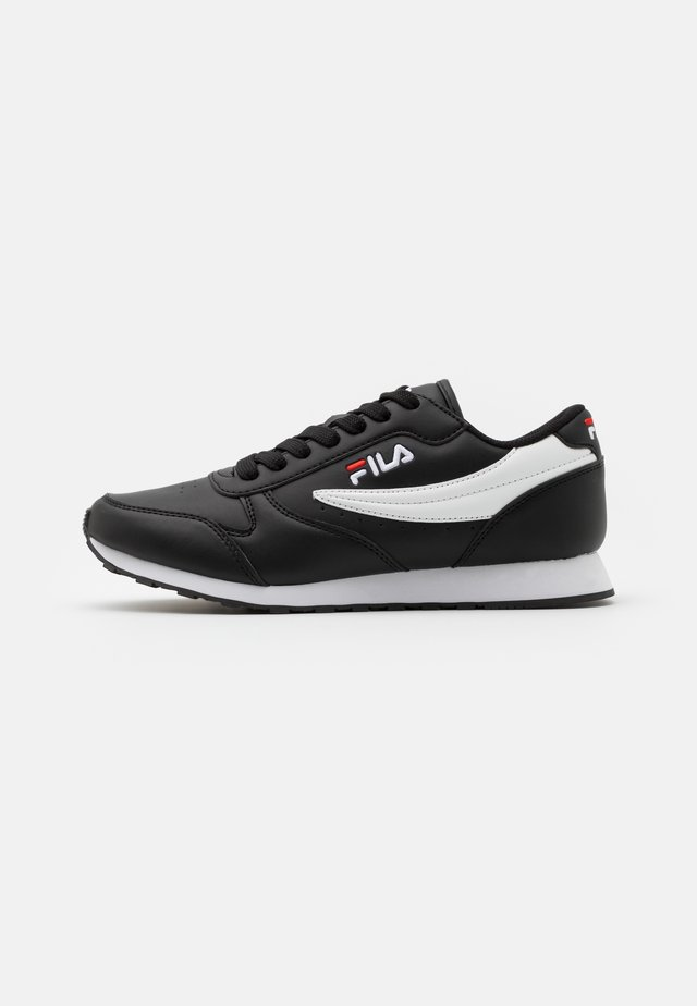 ORBIT - Sneakersy niskie - black/white