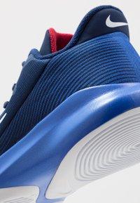 Nike Performance - PRECISION 4 - Zapatillas de baloncesto - blue void/white/racer blue/red crush - 5