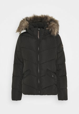 ONLROONA QUILTED JACKET - Winter jacket - black
