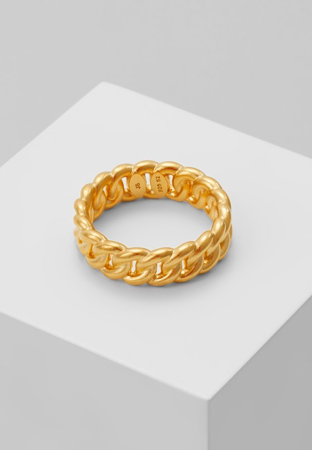 CHAIN - Ring - gold-coloured