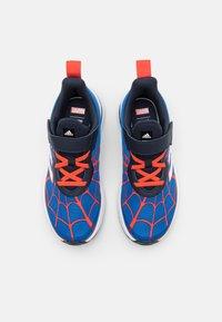 adidas Performance - FORTARUN SPIDERMAN UNISEX - Neutral running shoes - blue/legend ink/bold orange - 3