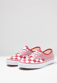 Vans - AUTHENTIC  - Trainers - chili pepper/true white - 2