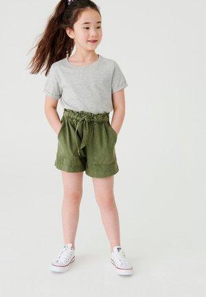 PAPERBAG - Denim shorts - khaki