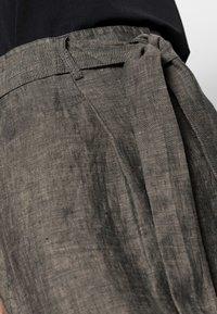 Opus - RAILA - A-line skirt - black oliv - 4