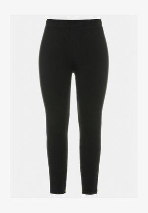 Leggings - Trousers - zwart