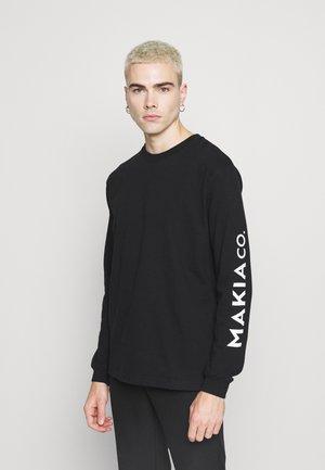NUUK LONG SLEEVE - Pitkähihainen paita - black
