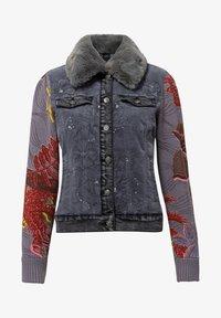 Desigual - CHAQ_PANA - Denim jacket - black - 4