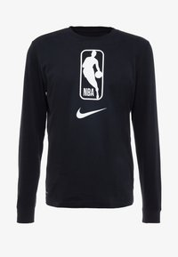 Nike Performance - NBA LONG SLEEVE - Camiseta de deporte - black/white - 4