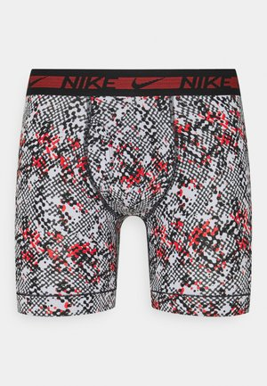 BOXER BRIEF 3PACK - Pants - chili red/black
