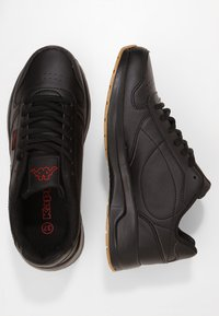 Kappa - BASE II - Walking trainers - black - 1