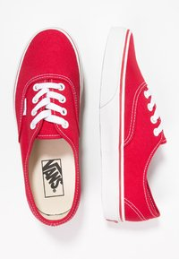 Vans - AUTHENTIC - Skate shoes - red - 1