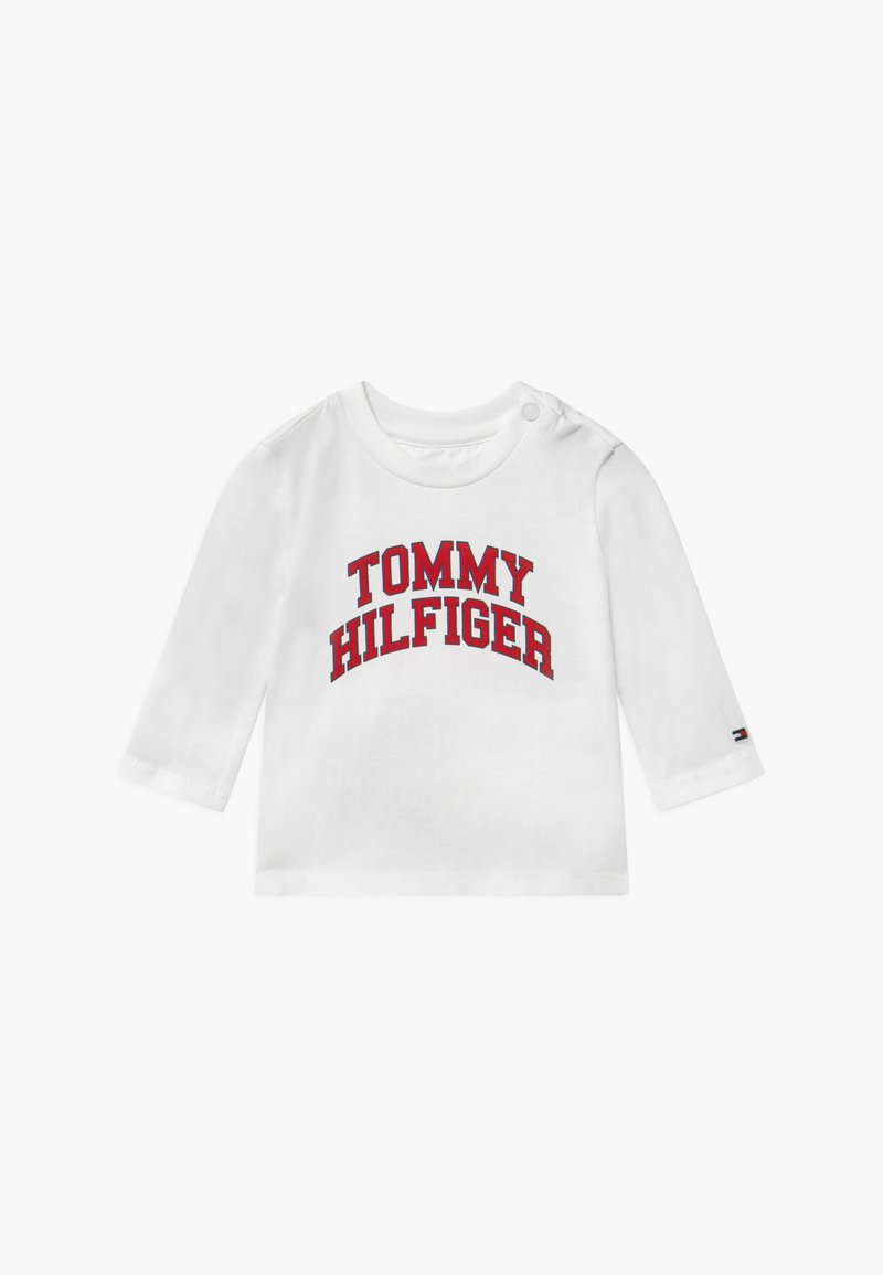 Tommy Hilfiger - BABY TEE - Long sleeved top - white