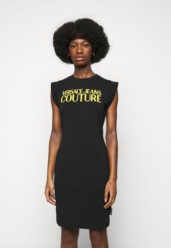 ACTIVE DRESS - Jersey dress - black