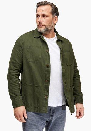 MIT FISCHGRATMUSTER - Summer jacket - khaki