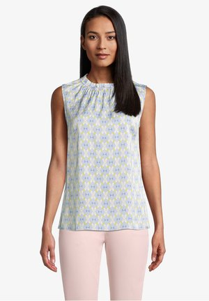 Blouse - light blue/cream