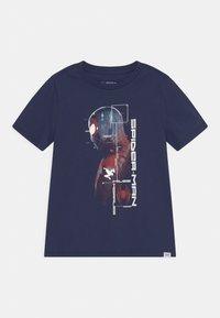 GAP - BOYS TEE - T-shirt med print - military blue - 0