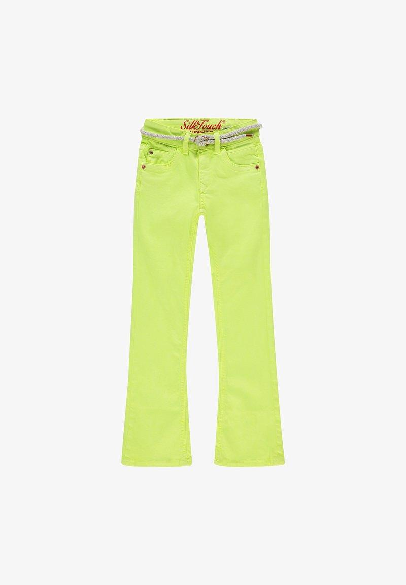 Vingino - BELIZE - Bootcut jeans - light neon yellow