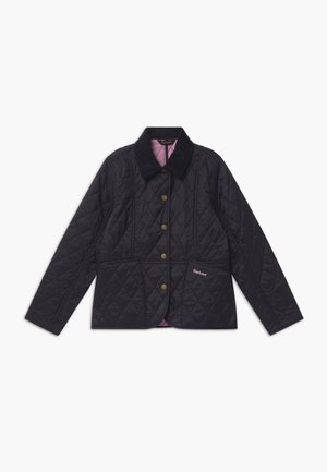 GIRLS LIDDESDALE QUILT - Winter jacket - navy/moonlight pink