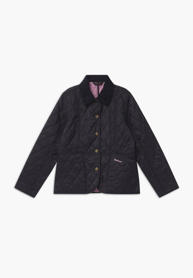 GIRLS LIDDESDALE QUILT - Winterjacke - navy/moonlight pink