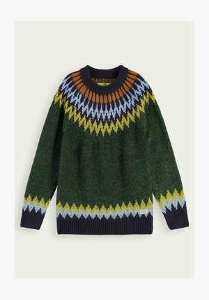 Strickpullover - military
