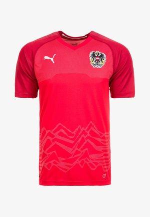 ÖSTERREICH HOME 2018 - National team wear - red/chilli pepper