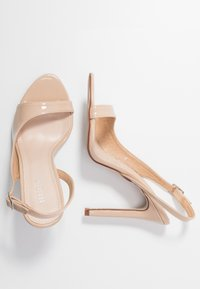 BEBO - BRISA - High heeled sandals - nude - 3