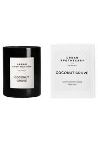 Urban Apothecary - LUXURY BOXED GLASS CANDLE - COCONUT GROVE - Duftlys - - - 1