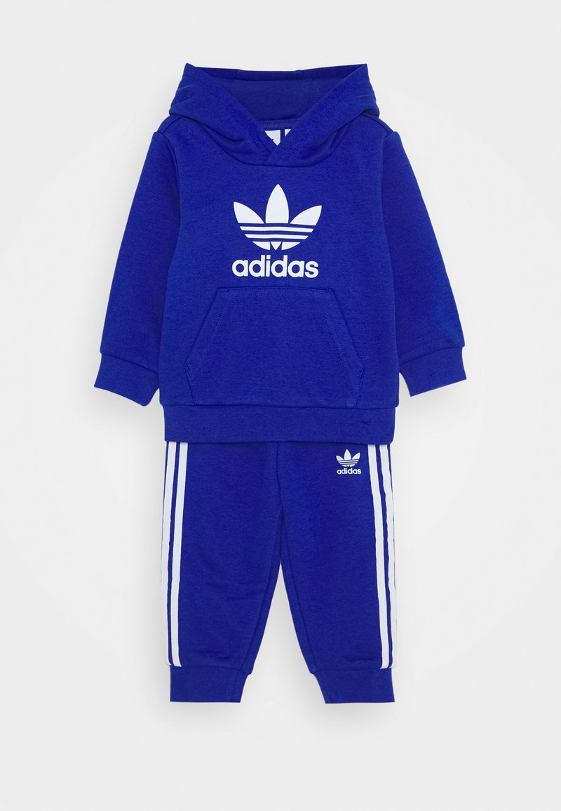 adidas Originals - TREFOIL HOODIE SET - Tracksuit - royal blue/white