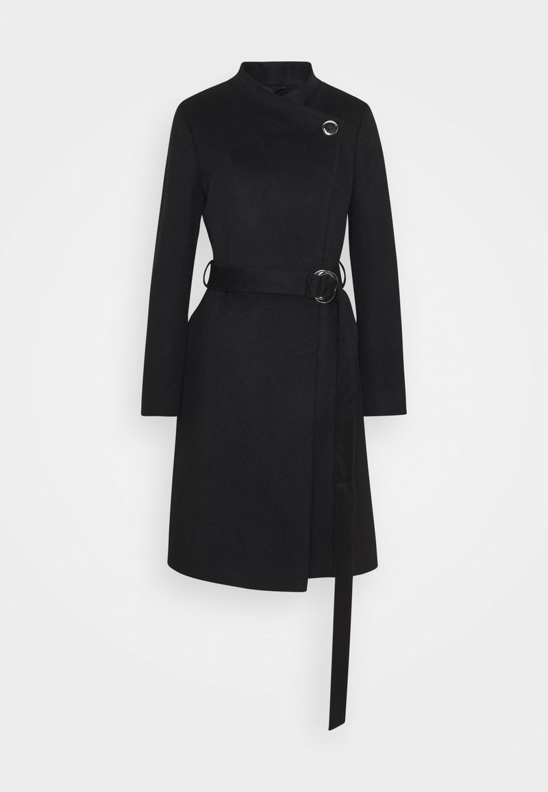 HUGO - MIVALA - Classic coat - black