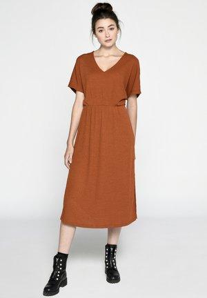 Jumper dress - rost