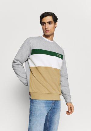 Sweatshirt - viennois/farine/argent chine