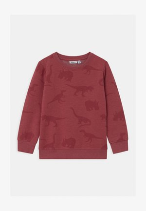 NMMODINO - Sweater - brick red