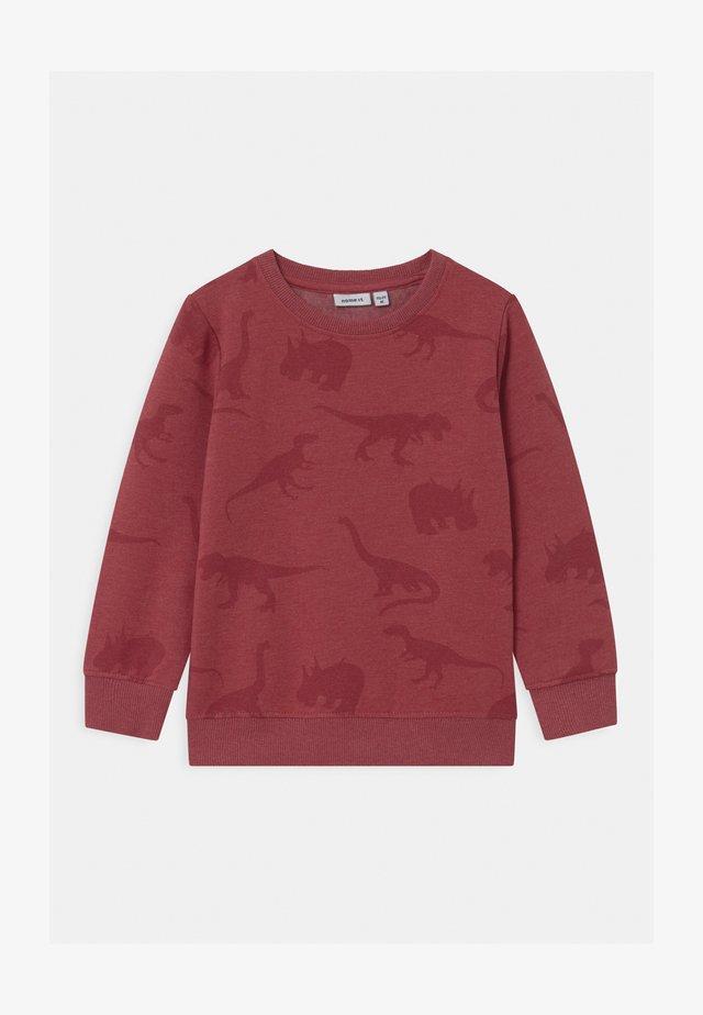 NMMODINO - Sweatshirt - brick red