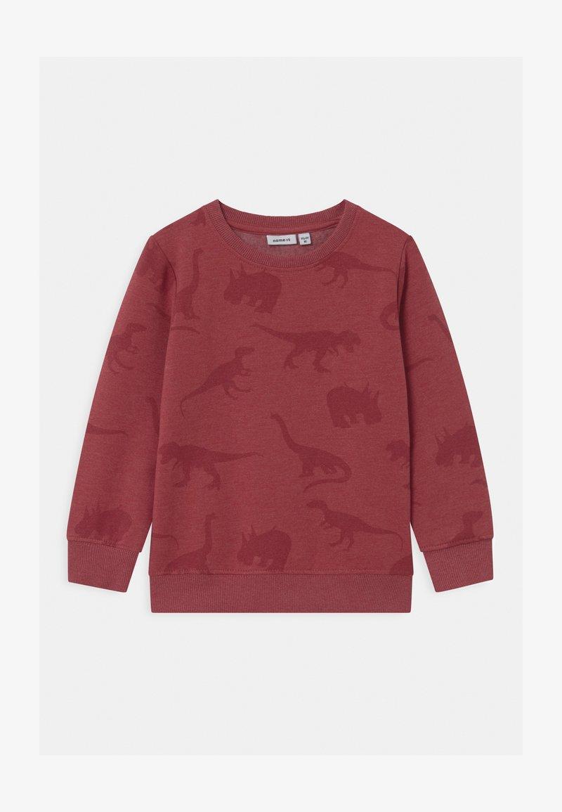 Name it - NMMODINO - Sweatshirt - brick red