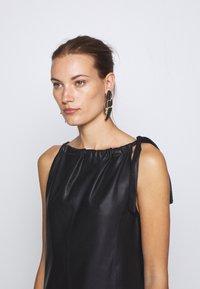 DEPECHE - LONG DRESS - Denní šaty - black - 3