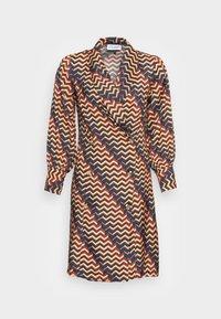 Closet - CLOSET PUFF SLEEVE DRESS - Shirt dress - teal - 3