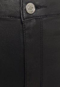 Missguided Tall - SPLIT HEM VICE WITH ZIPS - Jeans straight leg - black - 5