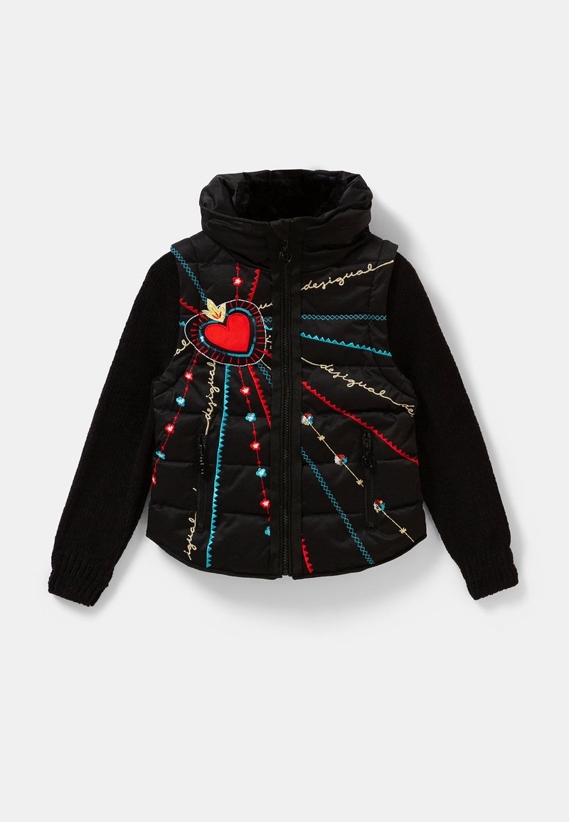 Desigual - CHAQ_LICHI - Winter jacket - black
