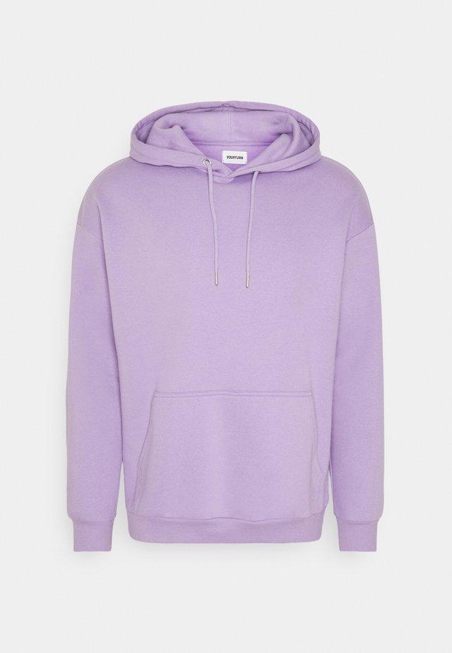 UNISEX - Felpa con cappuccio - lilac