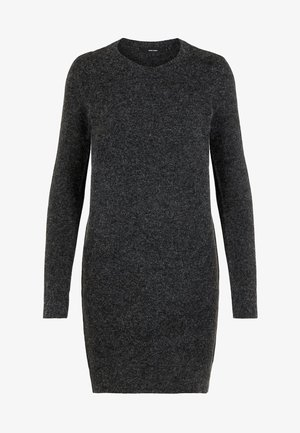 VMDOFFY O-NECK DRESS - Strikkjoler - black