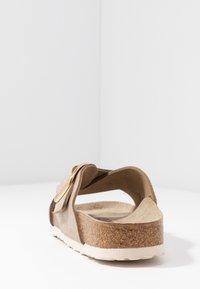 Birkenstock - SIENA - Slippers - washed metallic rose gold - 5