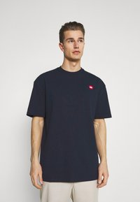 Kronstadt - MARTIN RECYCLED 2 PACK - Basic T-shirt - navy/olive - 3
