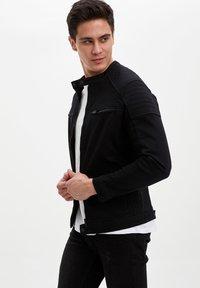 DeFacto - Kurtka jeansowa - black - 3