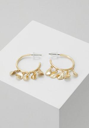 JAIN RING EAR PLAIN - Ohrringe - gold-coloured