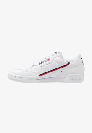 CONTINENTAL 80 SKATEBOARD SHOES - Sneakersy niskie - footwear white/scarlet/collegiate navy