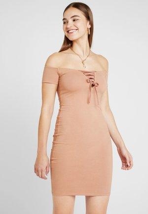 Day dress - tan